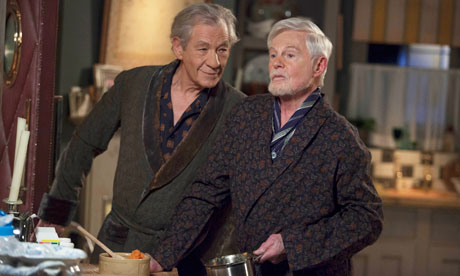 How can you not love this? Ian McKellen being an evil bitch and Derek Jacobi taking umbrage. It's fabulous.