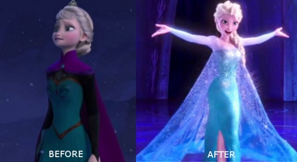 behold the dramatic difference!